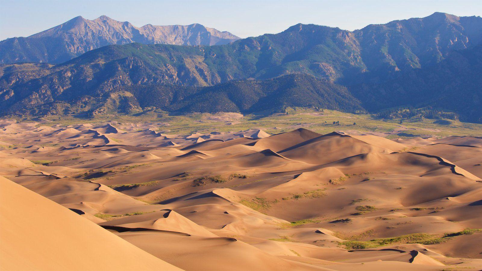 Mountain Pictures: View Image of Great Sand Dunes National Park