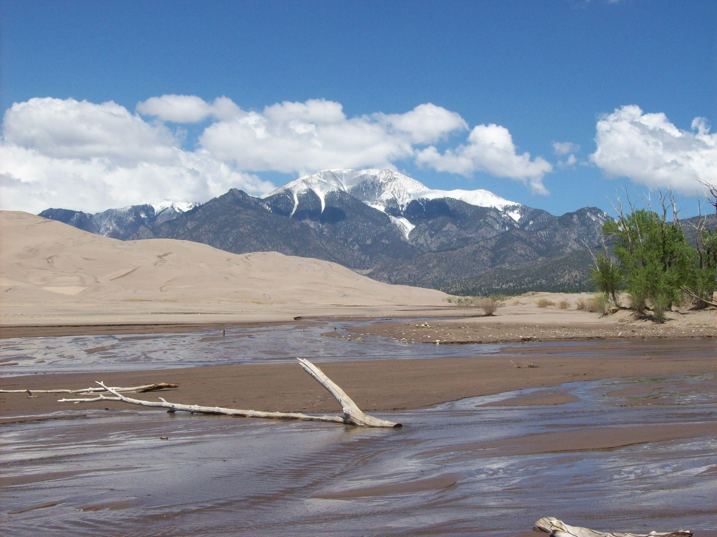 Great Sand Dunes National Park and Preserve in Colorado – Camping