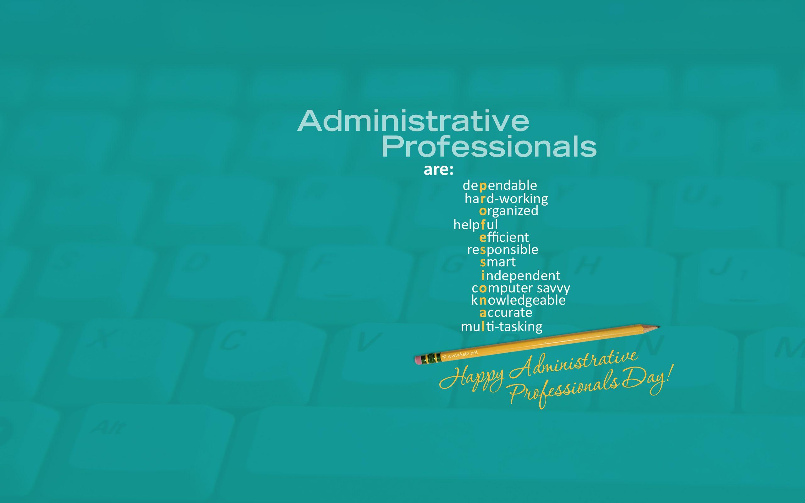 Administrative Professionals Day Wallpapers by Kate