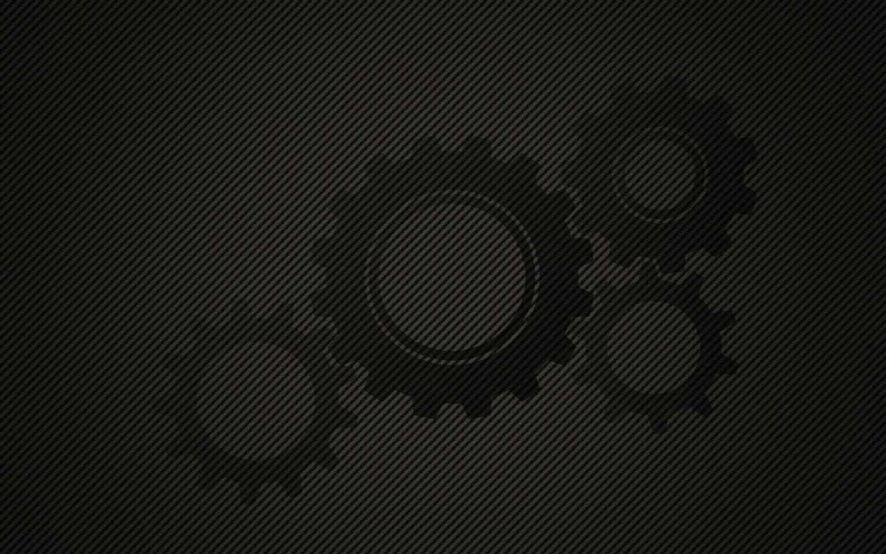 Free Friday Wallpaper: Carbon Fibre Gears