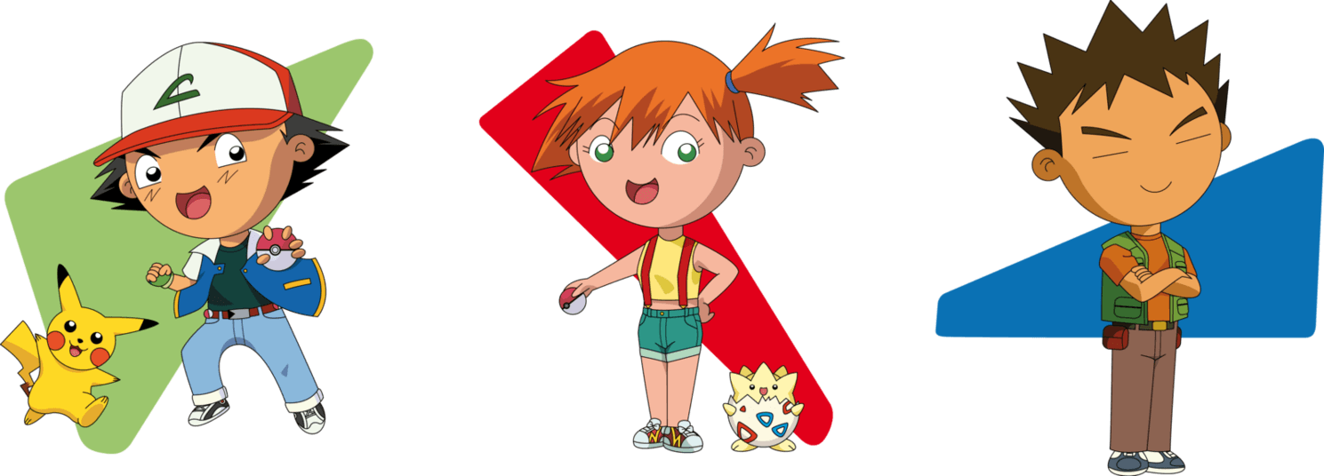 Chibis Ash, Pikachu, Misty, Togepi and Brock by PolarStar on ...