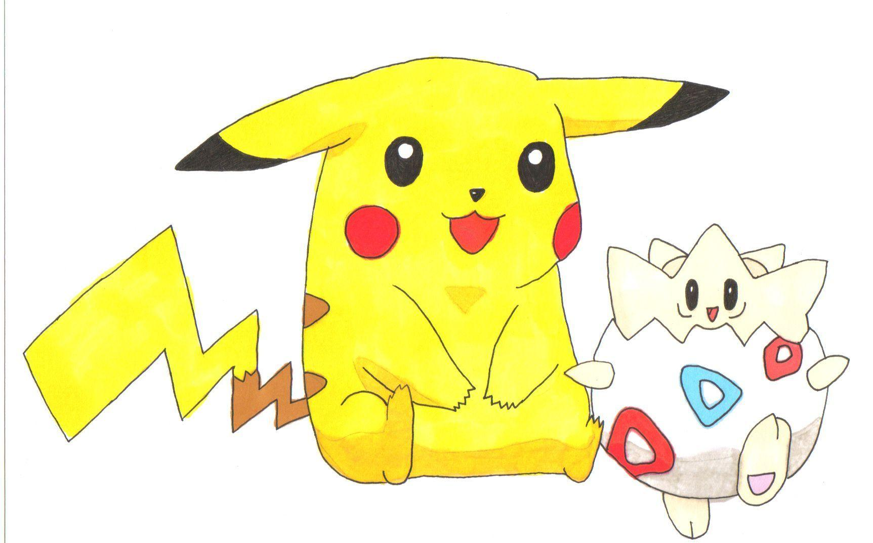 pikachu babysitting togepi | Pikachu | Pinterest | Babysitting and ...