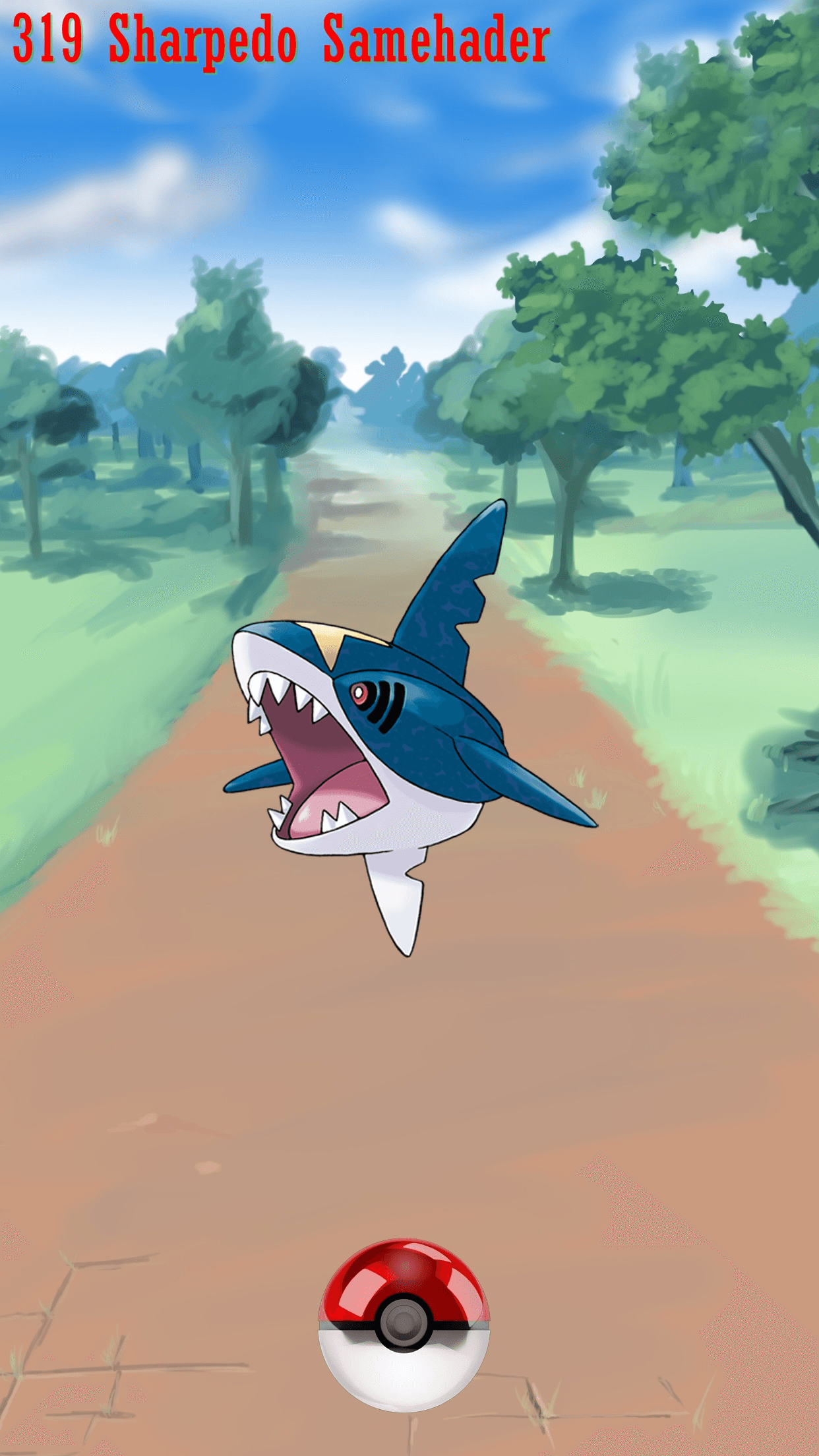 319 Street Pokeball Sharpedo Samehader