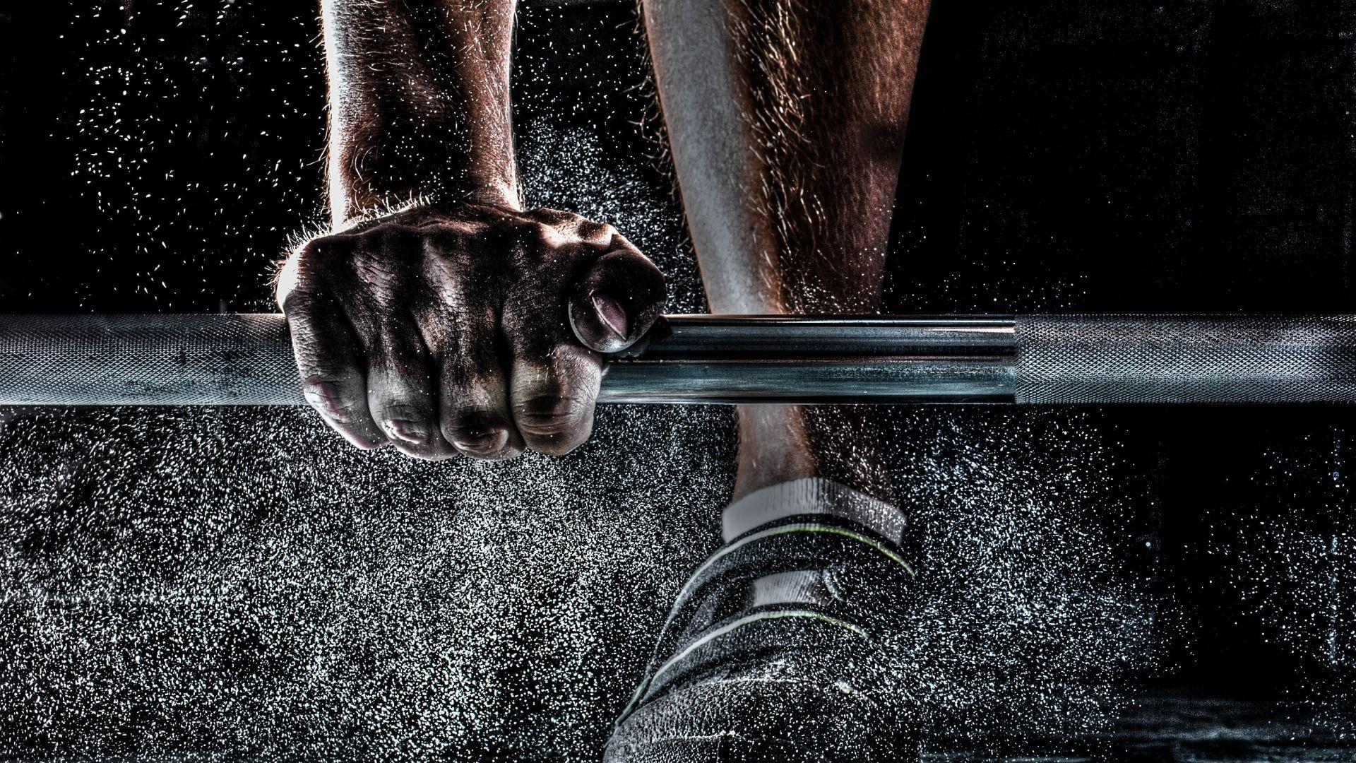 Barbell, hands, feet wallpaper - HD wallpaper download. Wallpapers ...