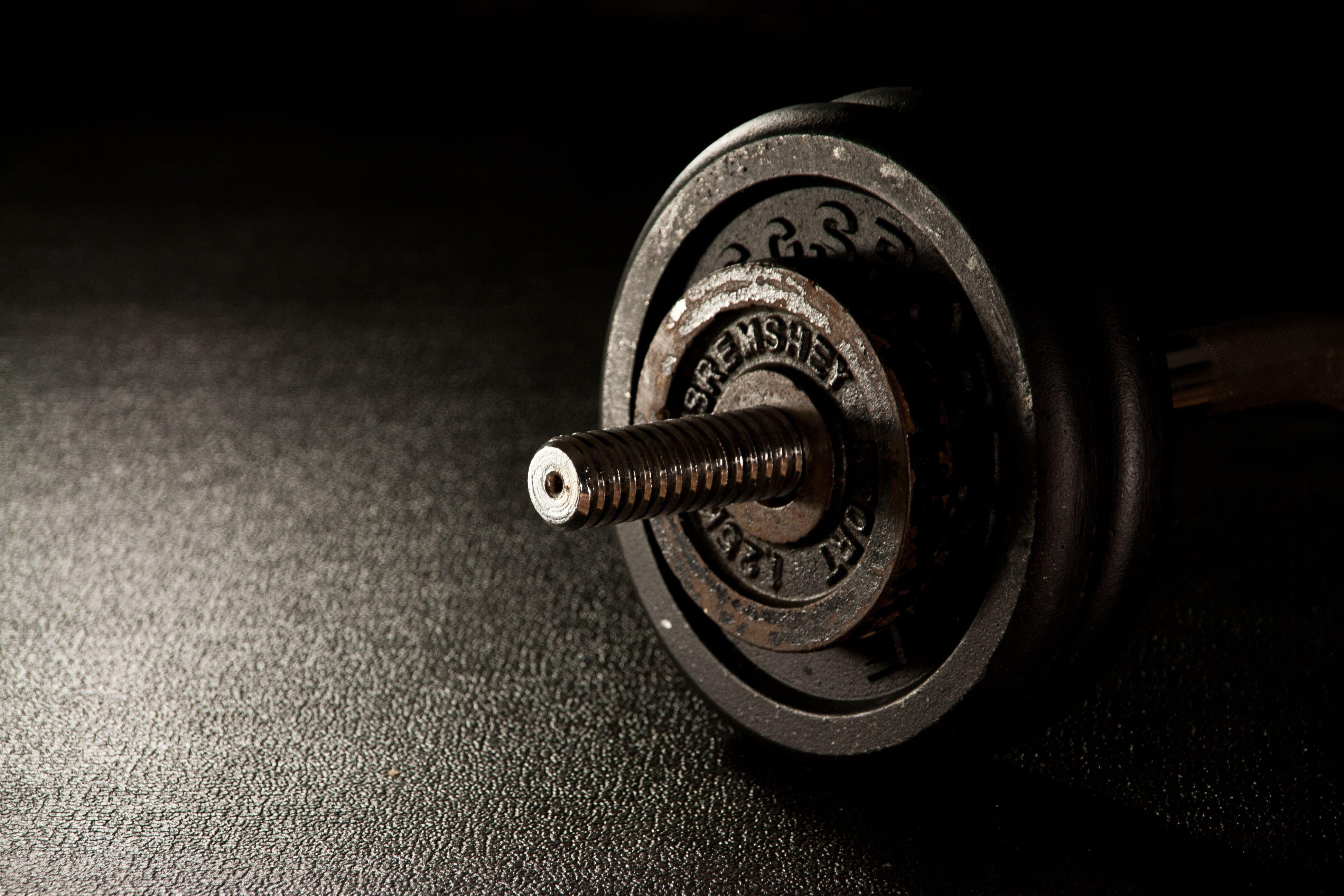 Black barbell HD wallpaper | Wallpaper Flare