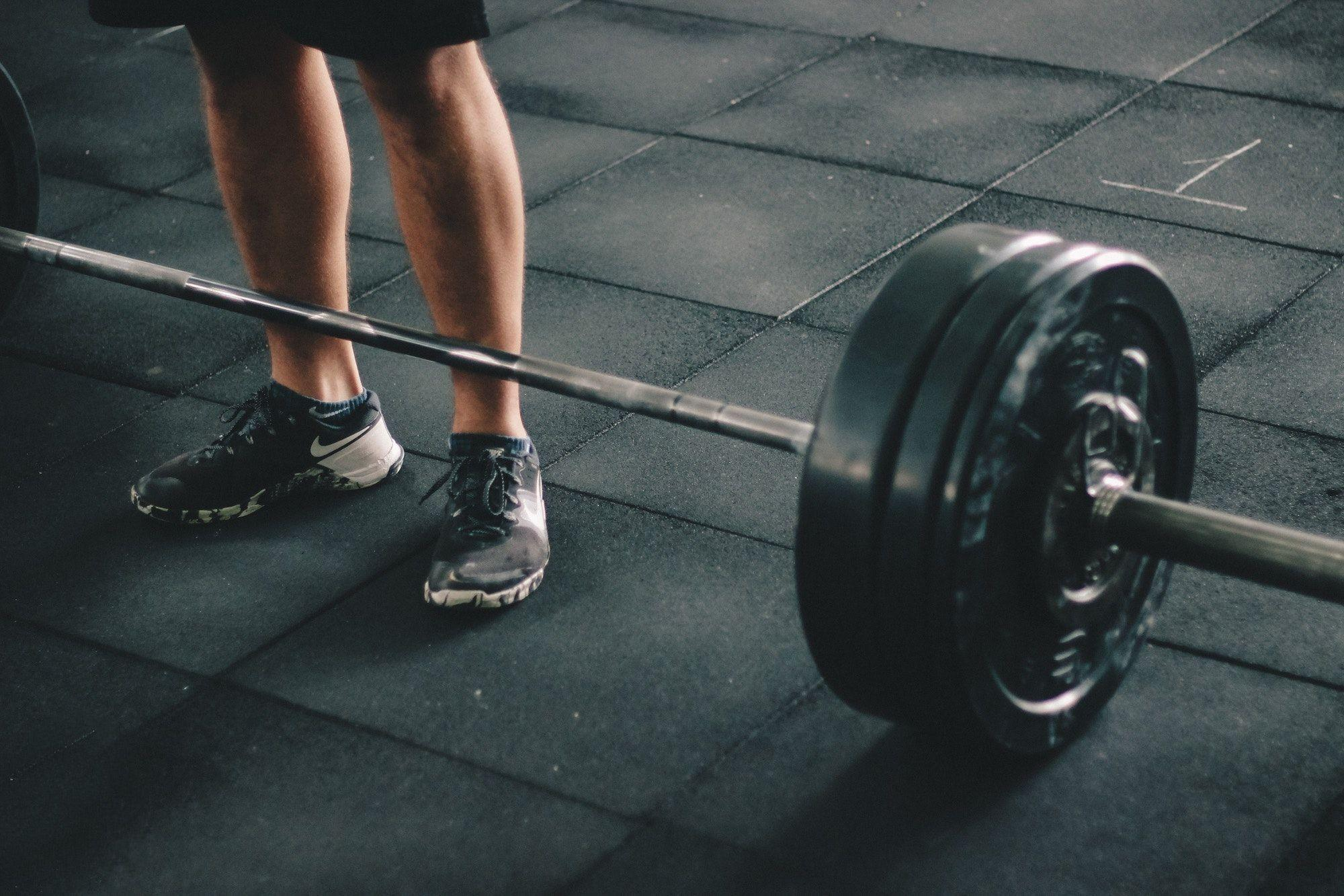 Free stock photo of adult, athlete, barbell