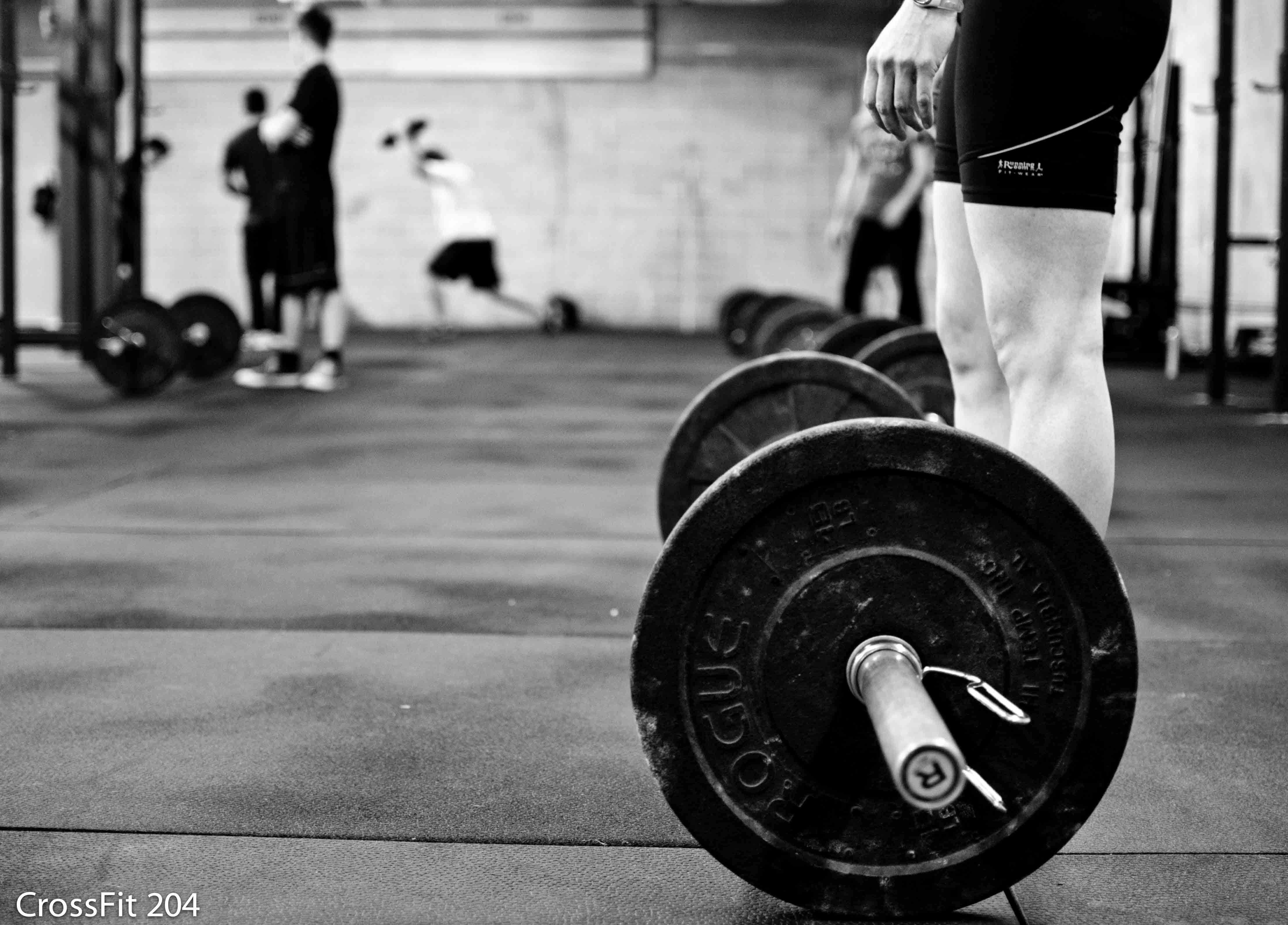 Crossfit Barbell Wallpaper - Minus the Fanfare: Blend ...