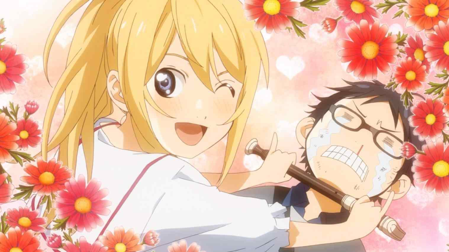Wallpapers anime your lie in april funny kaori miyazono wallpapers i