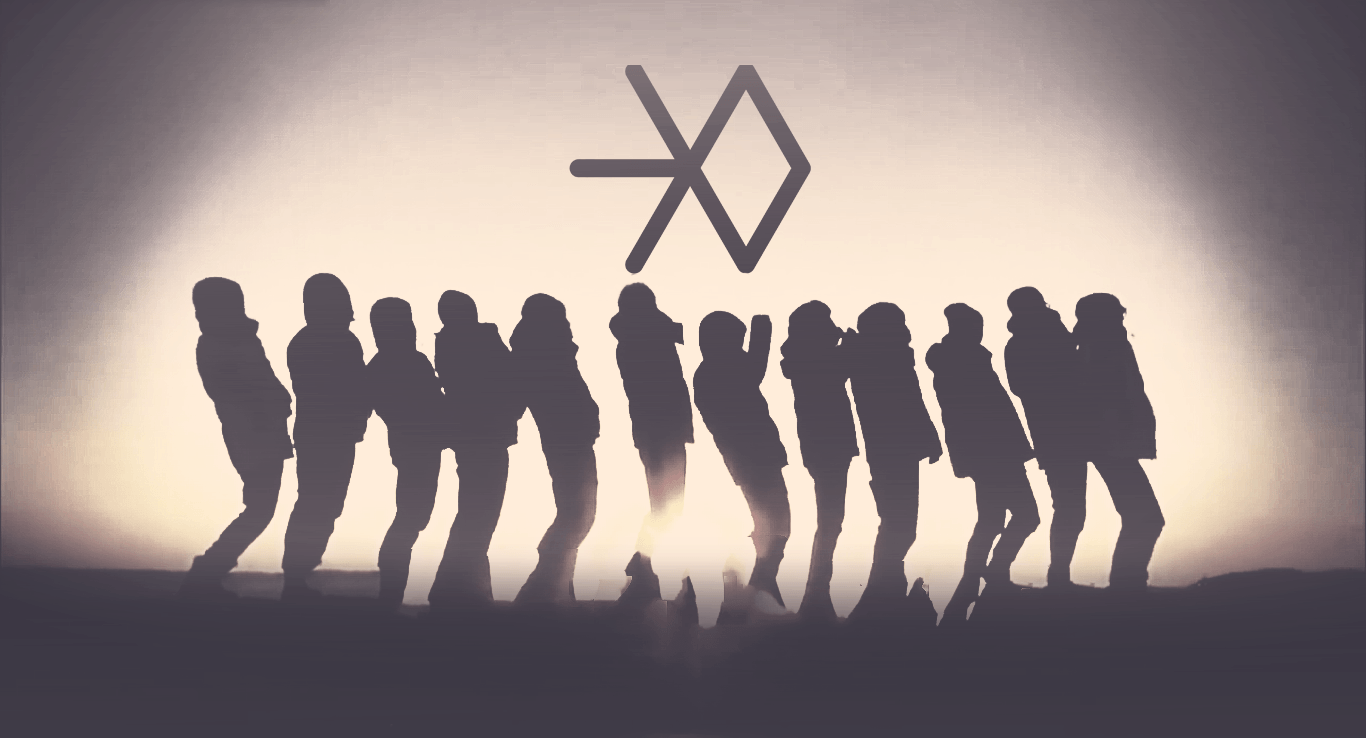 Exo Logo Wallpapers Wallpaper Cave