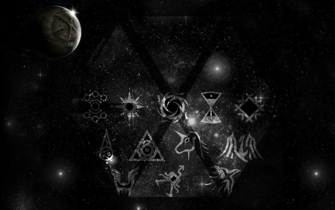Exo Logo Wallpapers Wallpaper Cave