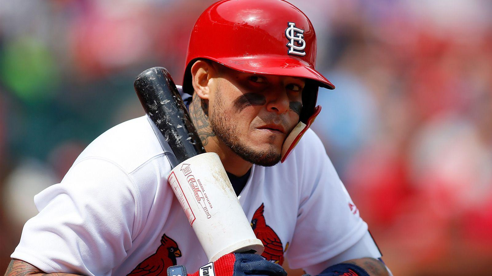 Yadier Molina takes offense to pine tar questions