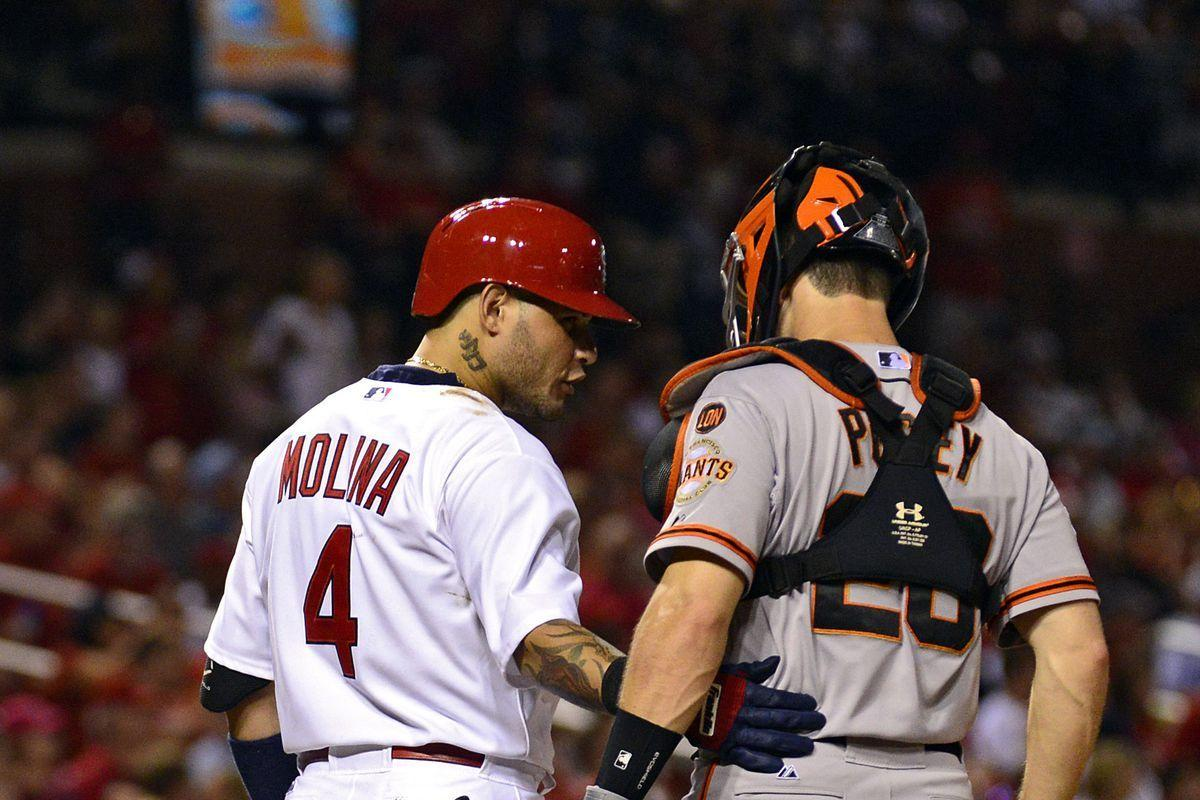 Is Yadier Molina really the NL's catcher?