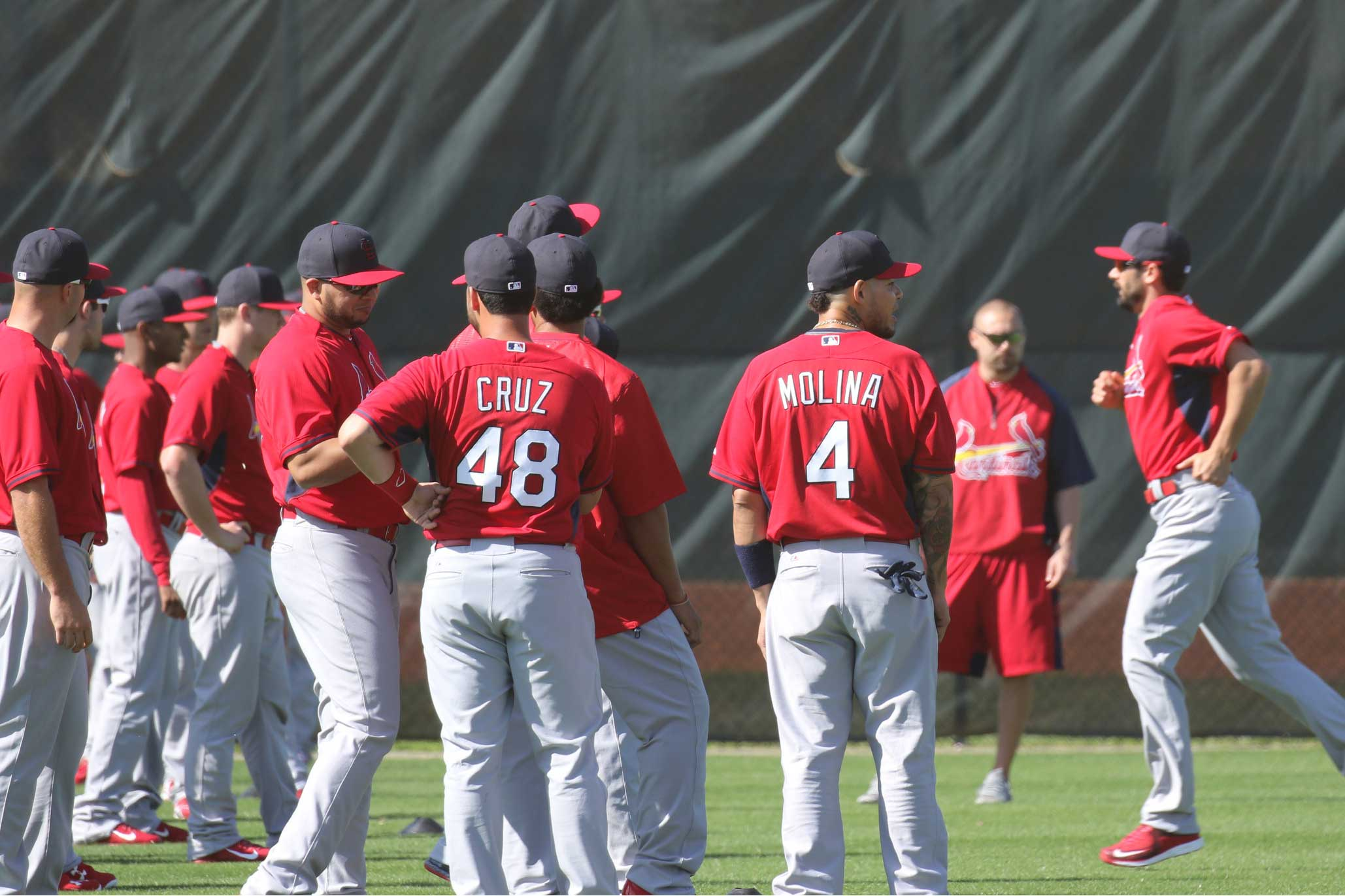 First Day of Cardinals Spring Training 2015