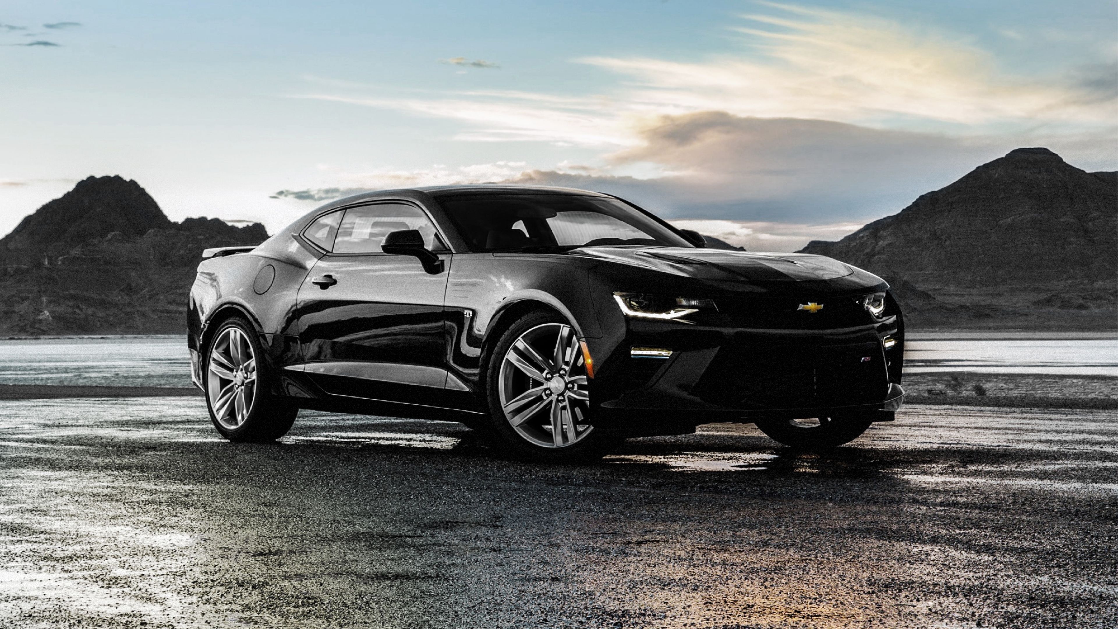 Chevrolet Camaro SS Black, HD Cars, 4k Wallpapers, Image