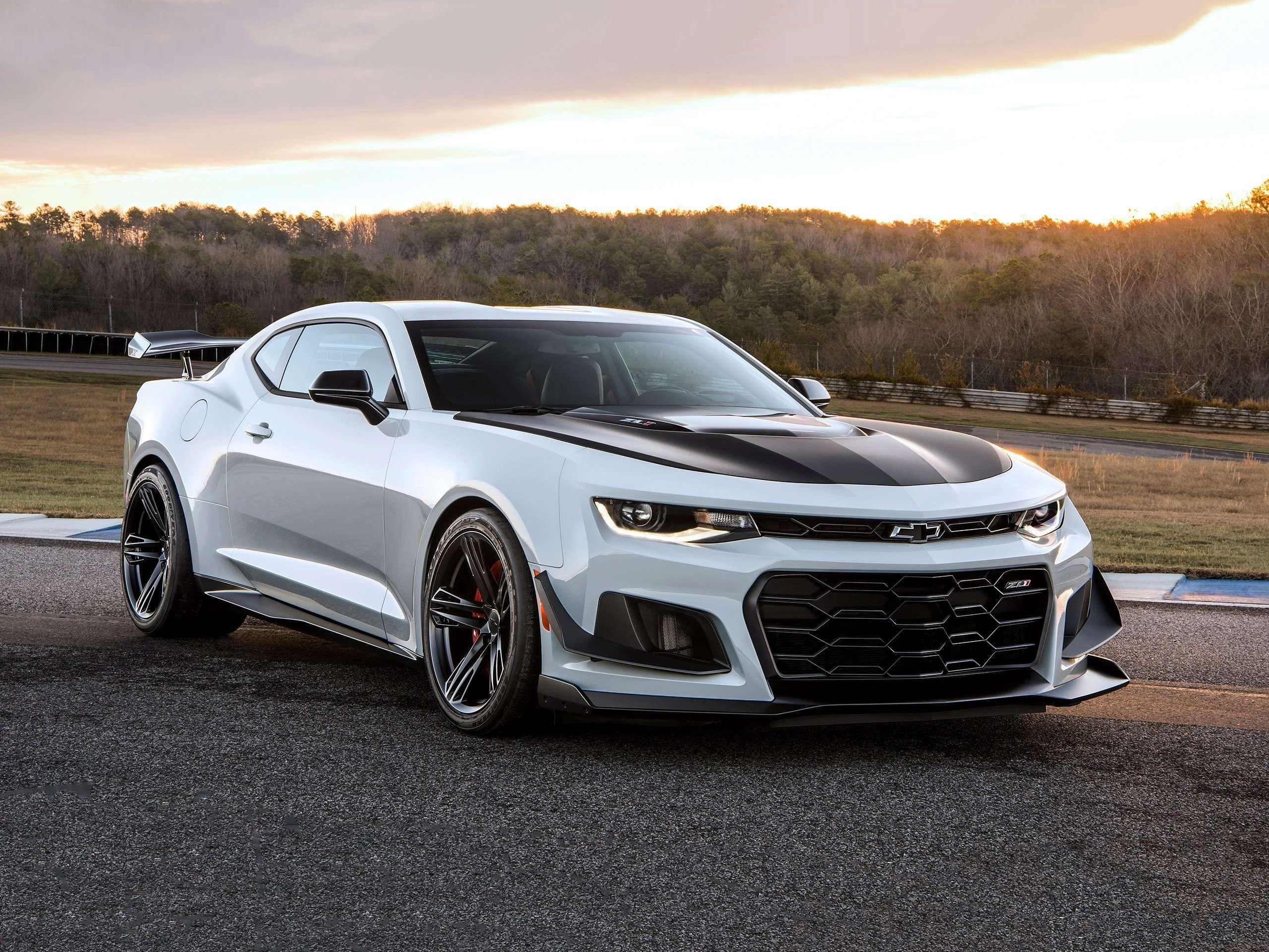 Wallpapers Chevrolet Camaro ZL1 1LE, 2018, Automotive / Cars,