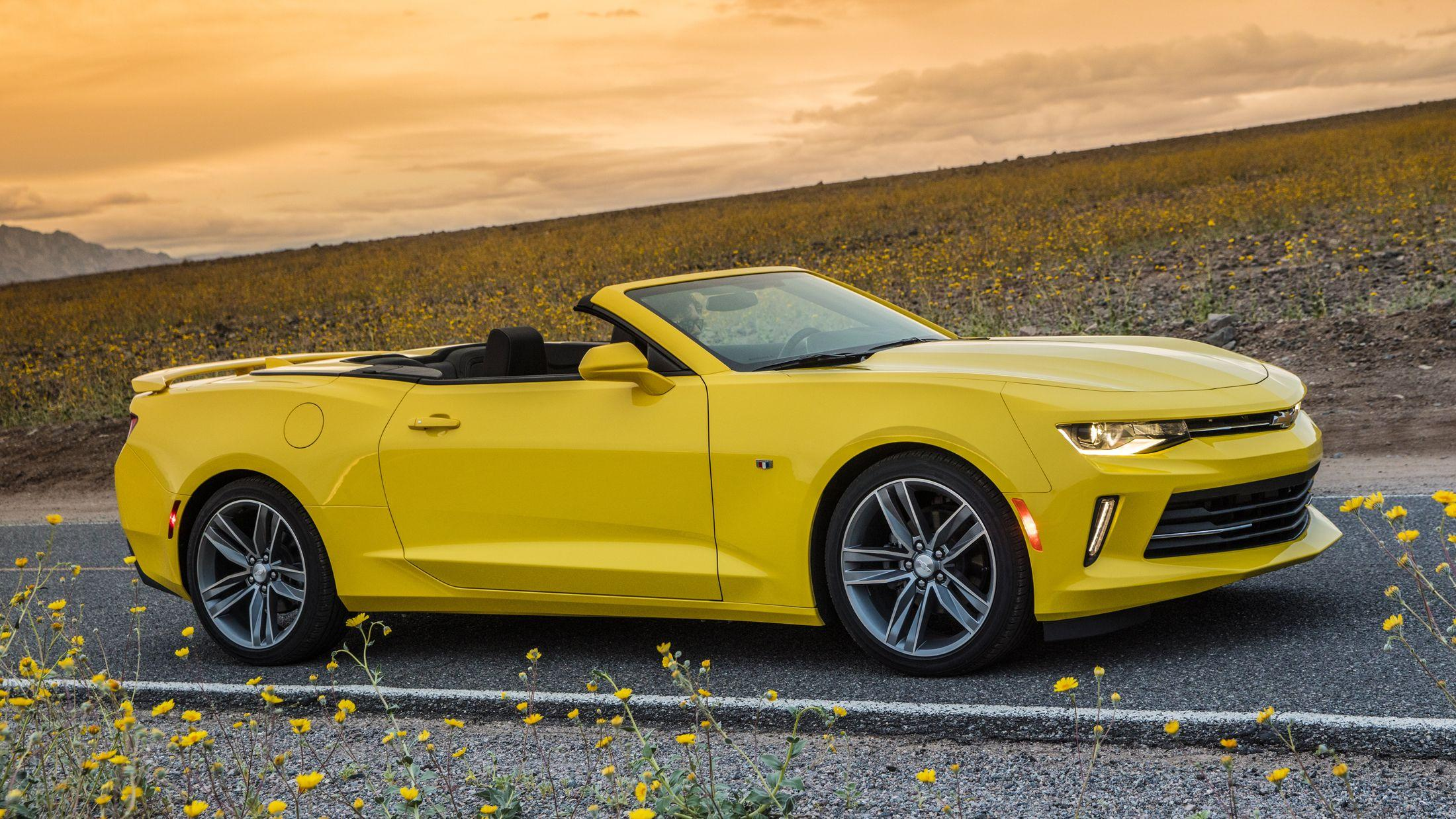 2016 Chevrolet Camaro Convertible 2.0T: Quick Spin Photo Gallery