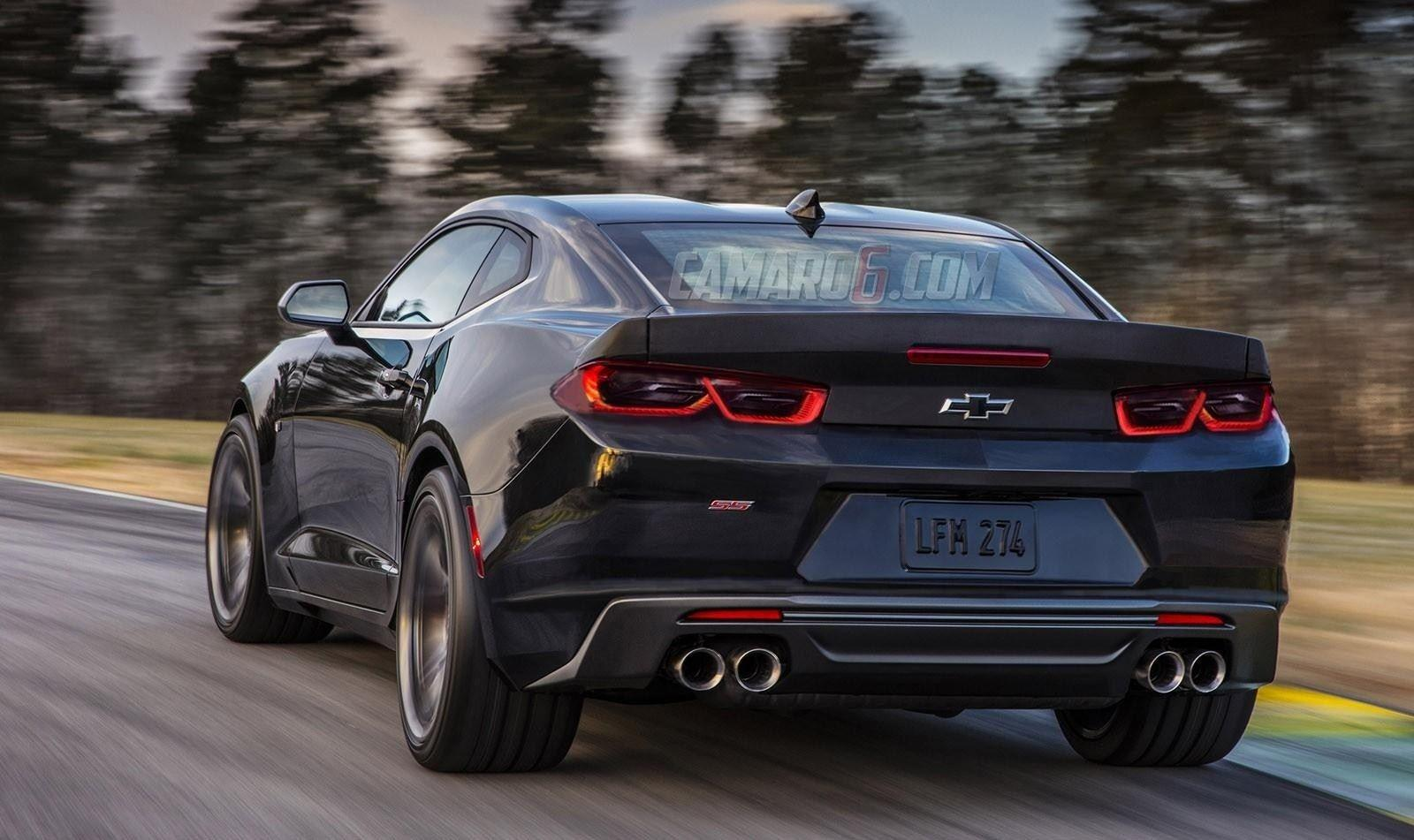 The All 2019 Chevy Camaro Redesign