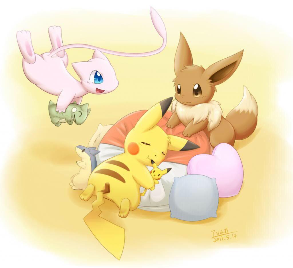 Eevee And Pikachu Wallpapers - Wallpaper Cave  Eevee And Pikac...