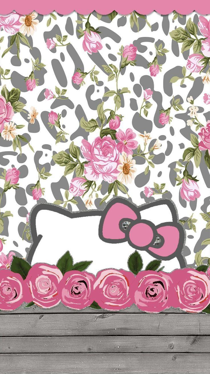 Wonderful Wallpaper Hello Kitty Floral - wp2514282  Image_78924.jpg