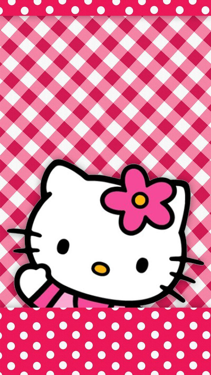 Hello Kitty Floral Wallpapers - Wallpaper Cave