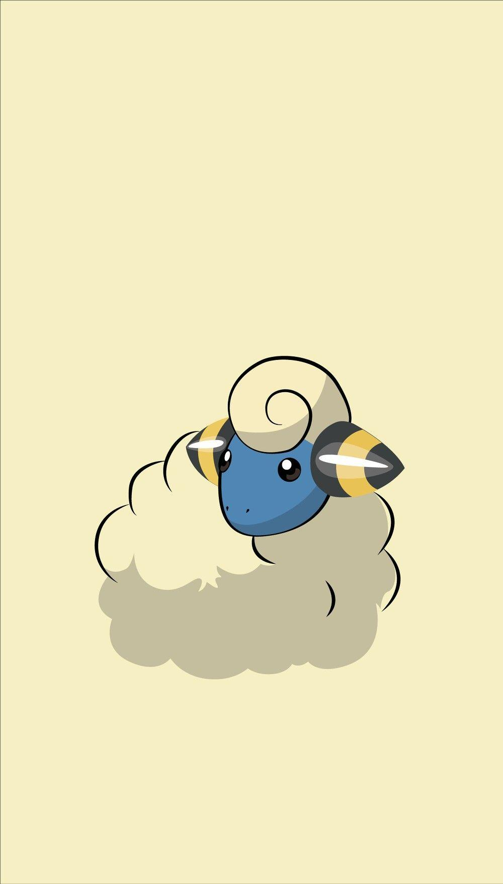 Mareep wallpaper ❤ | Pokémon | Pinterest | Wallpaper, Pokémon and ...
