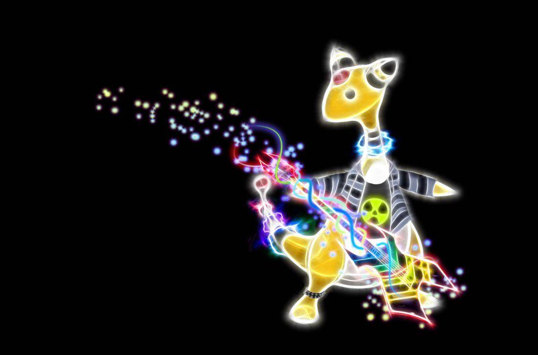 Rockin Ampharos Wallpapers by Viatrice