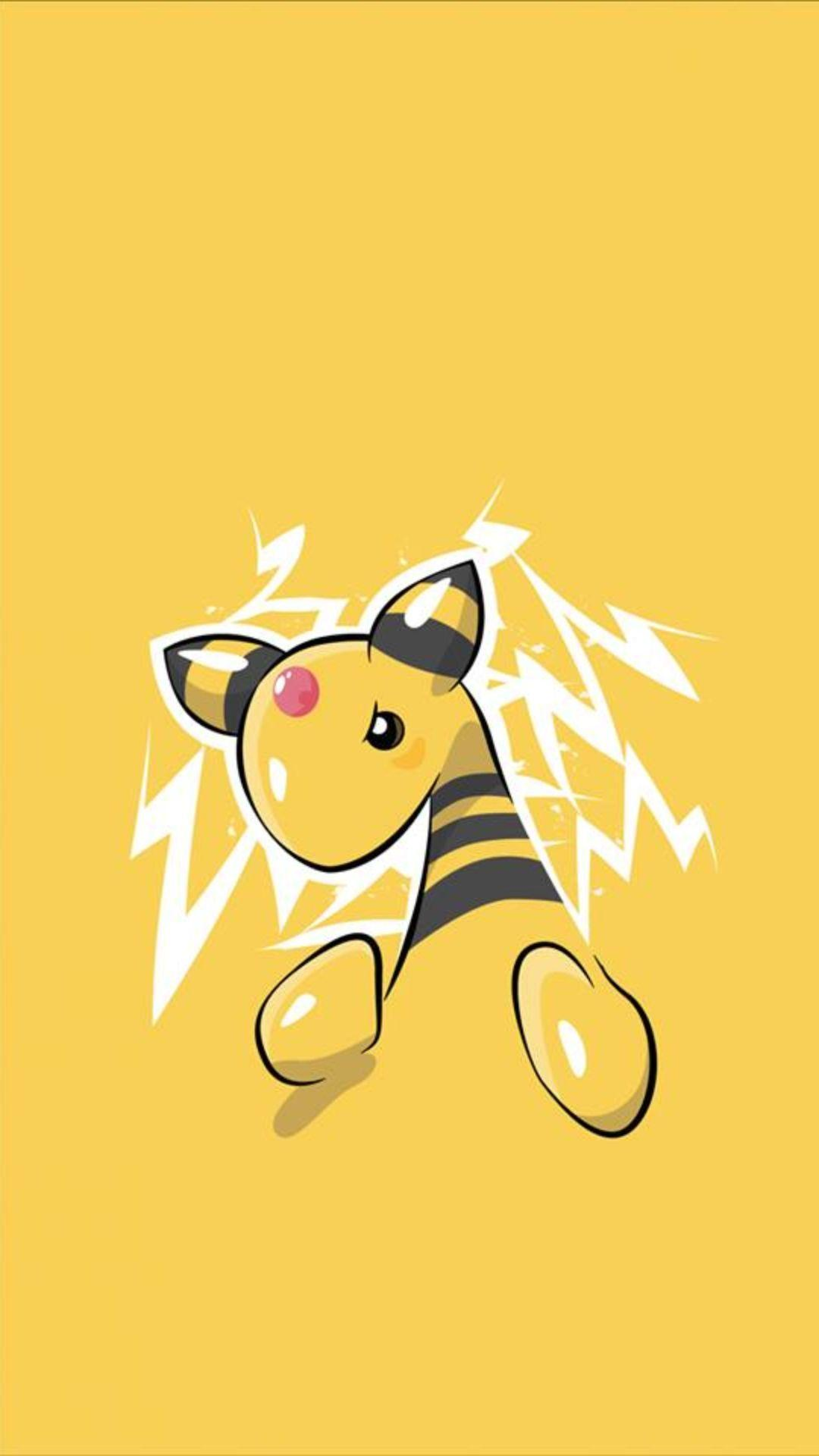 Ampharos - Tap to see more Pokemon Go wallpaper! | @mobile9 ...
