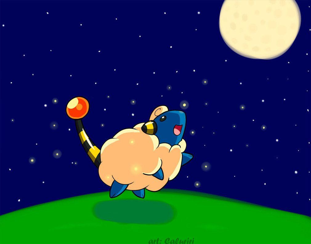 A Mareep Night by caluriri on DeviantArt
