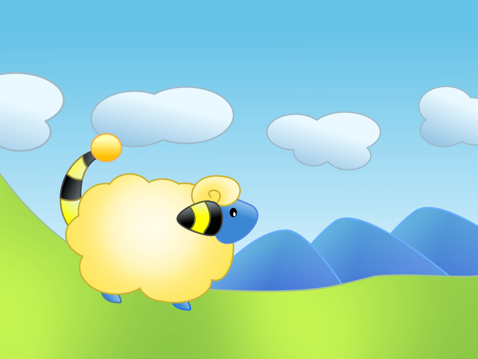 Mareep by dakki000 on DeviantArt