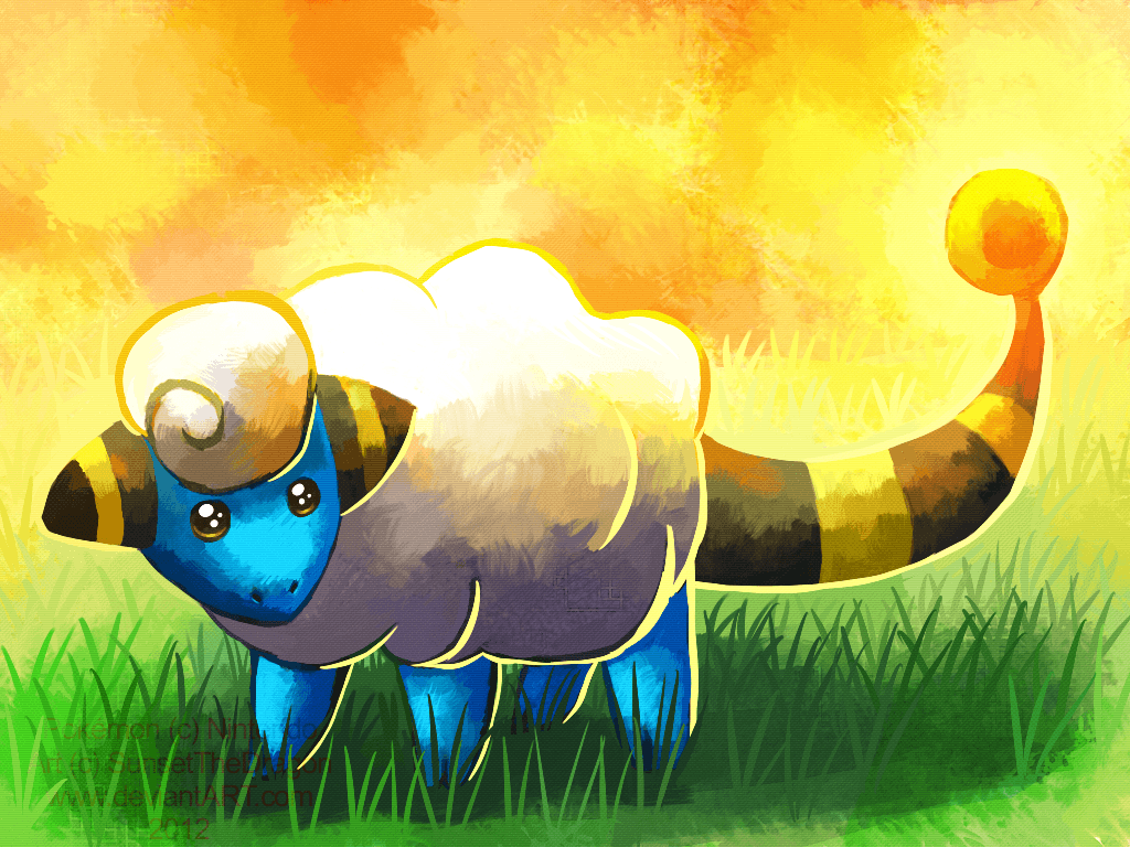 A wild Mareep appeared! by SunsetTheDragon on DeviantArt
