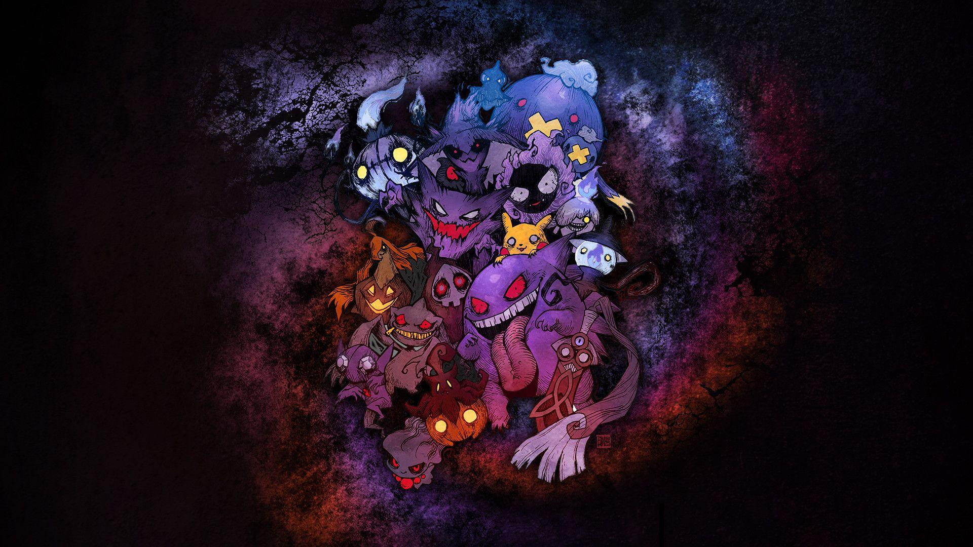 Dark Type Pokemon Wallpapers Wallpaper Cave