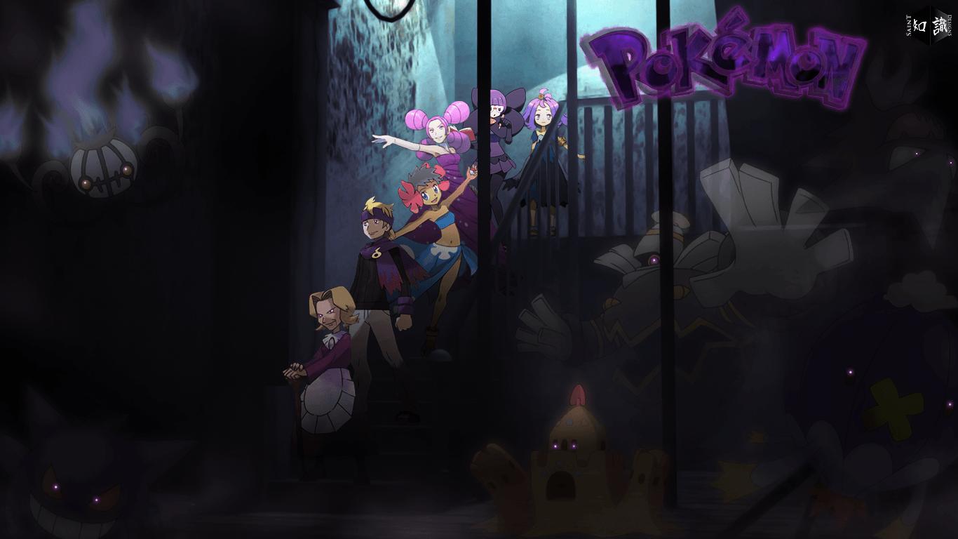 Psychic Pokemon Wallpaper × Ghost Pokemon Wallpaper | HD .