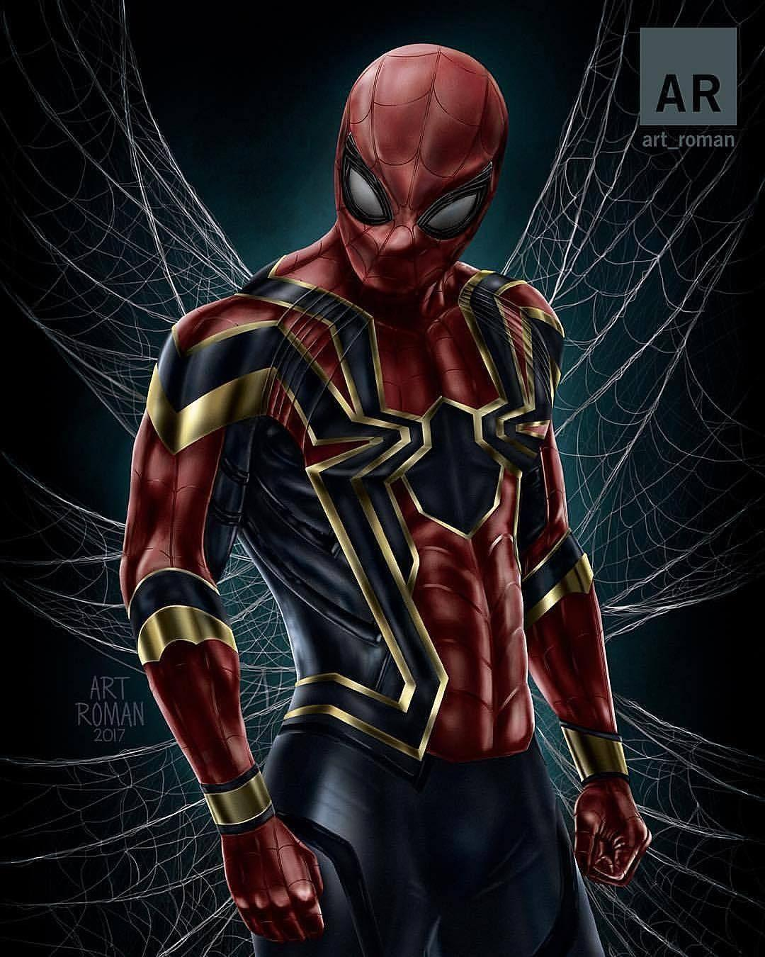 Iron spider suit wallpapers wallpaper cave - Iron man spiderman wallpaper ...