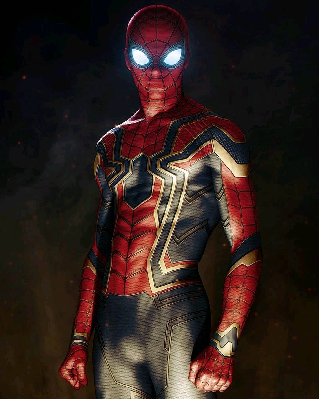 Iron Spider Suit Wallpapers Wallpaper Cave