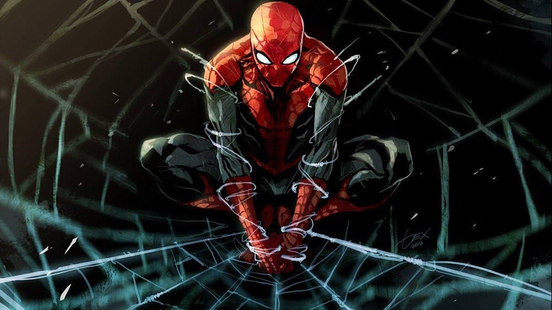 Iron Spider Suit Wallpapers - Wallpaper Cave