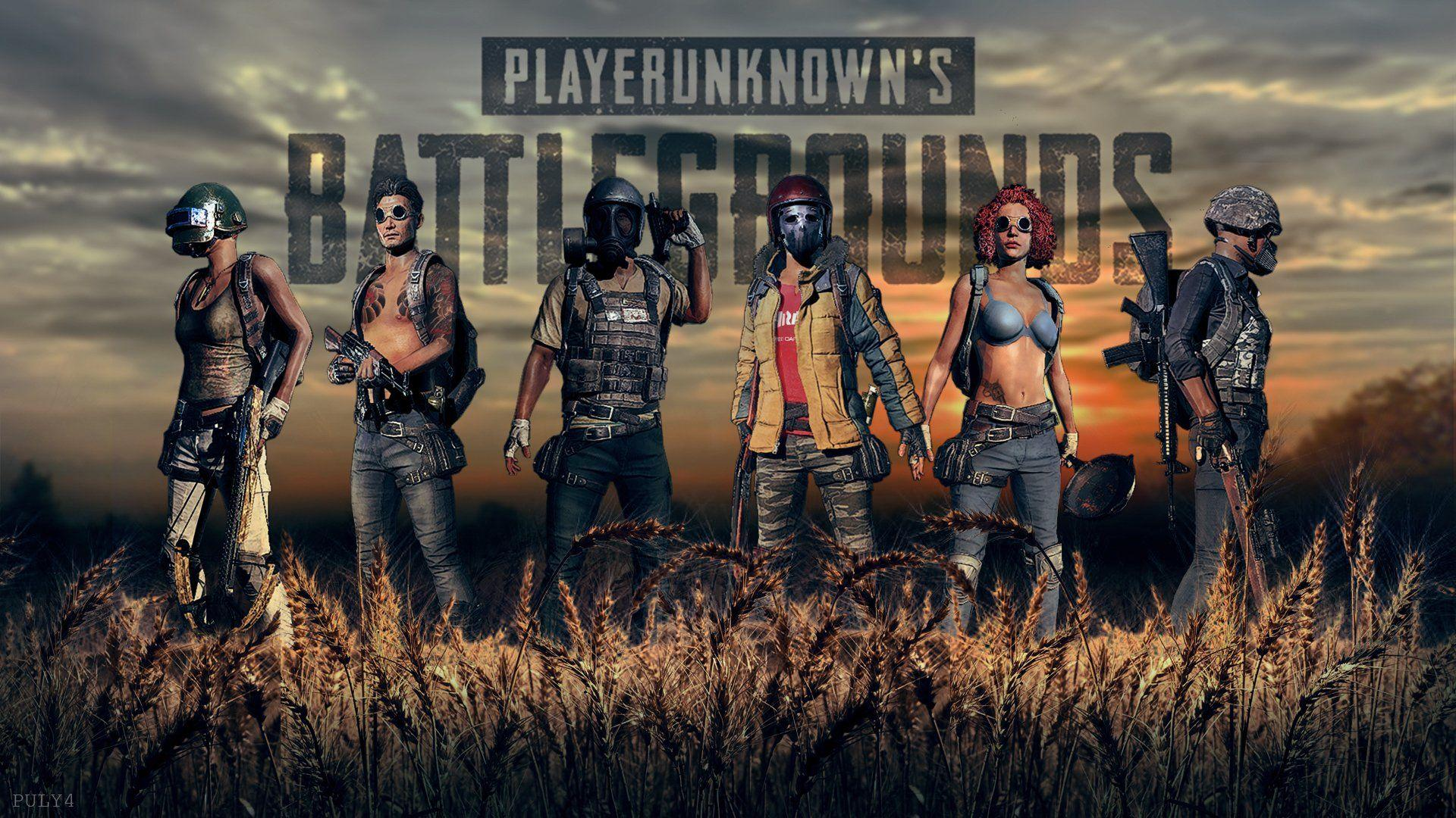 Pubg Game Girl Fanart Hd Games 4k Wallpapers Images: PUBG 4K Wallpapers