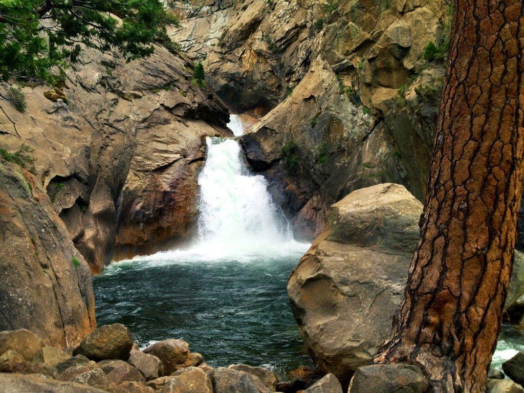 Roaring River Falls, Kings Canyon National Park
