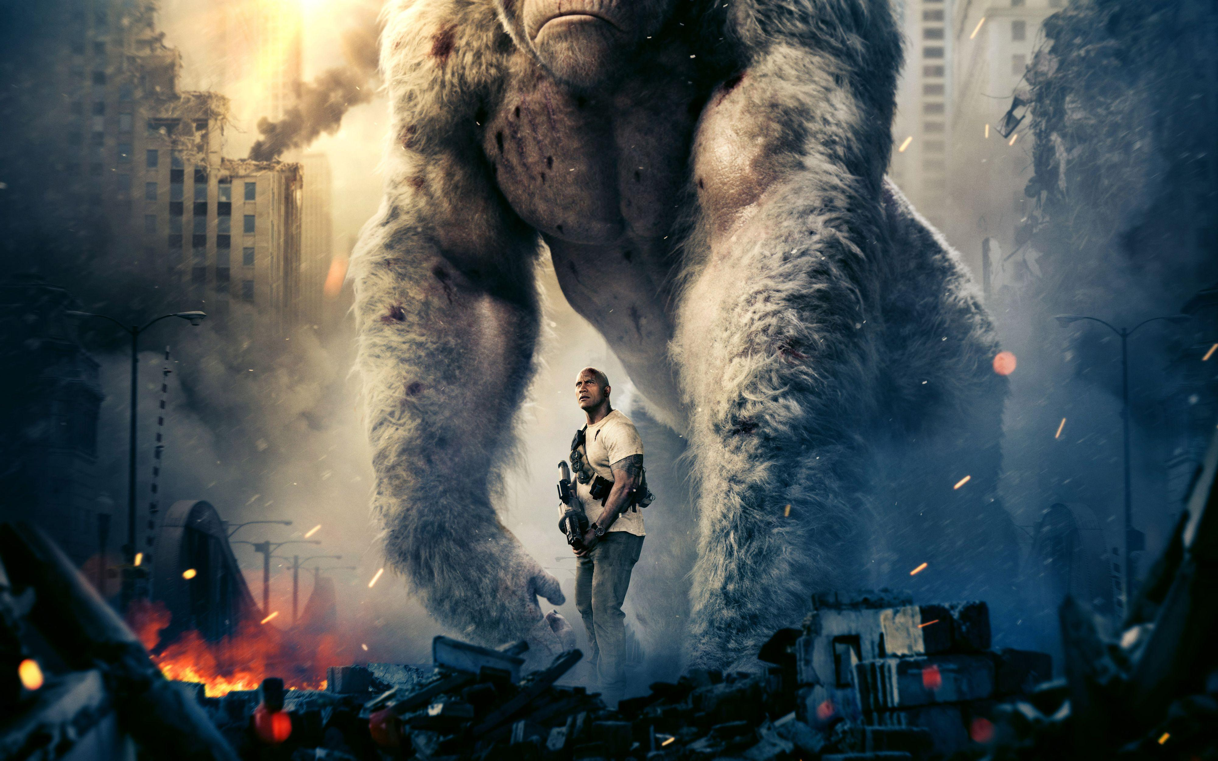 Rampage Movie Wallpapers - Wallpaper Cave