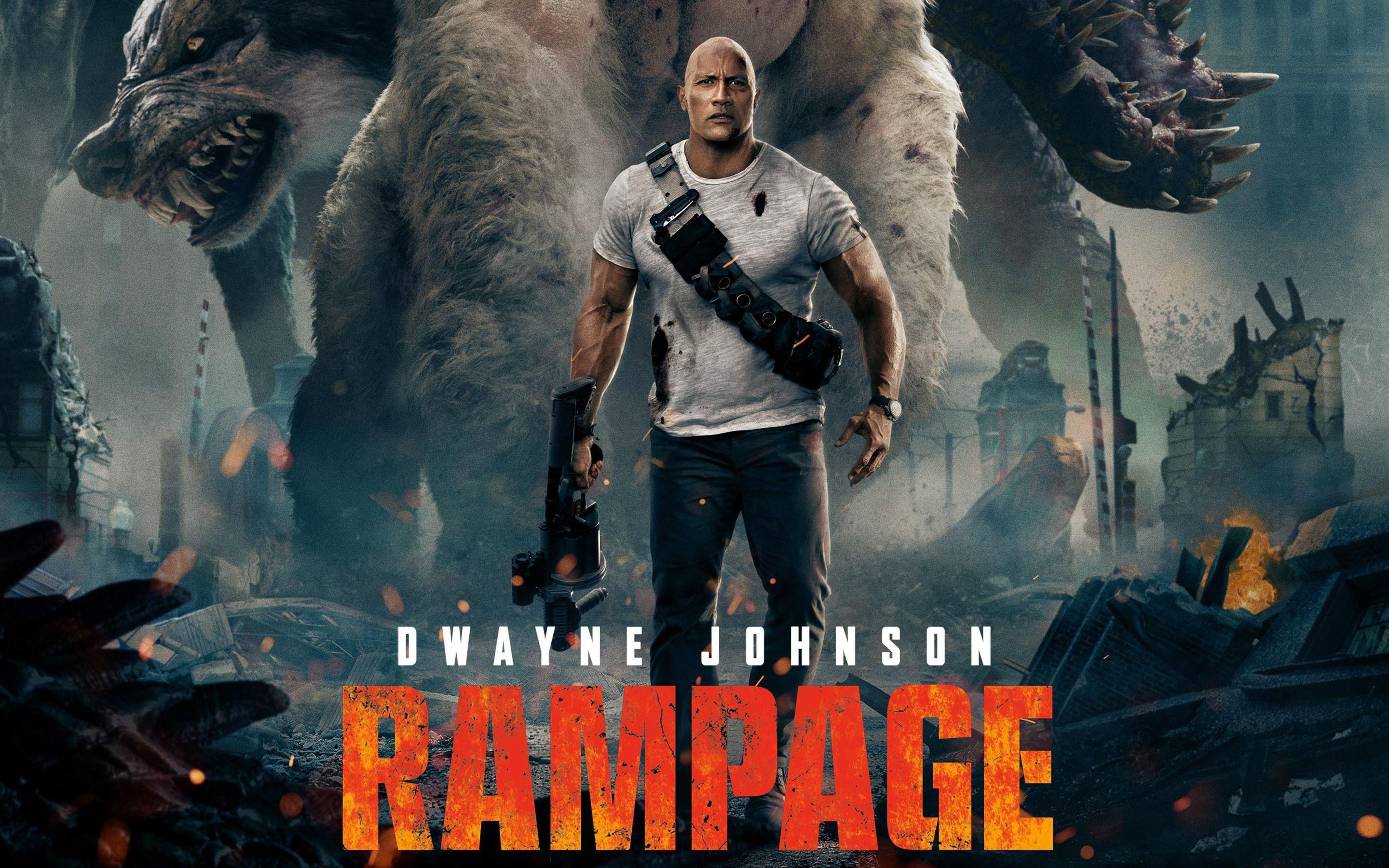 Rampage Movie Wallpapers Wallpaper Cave