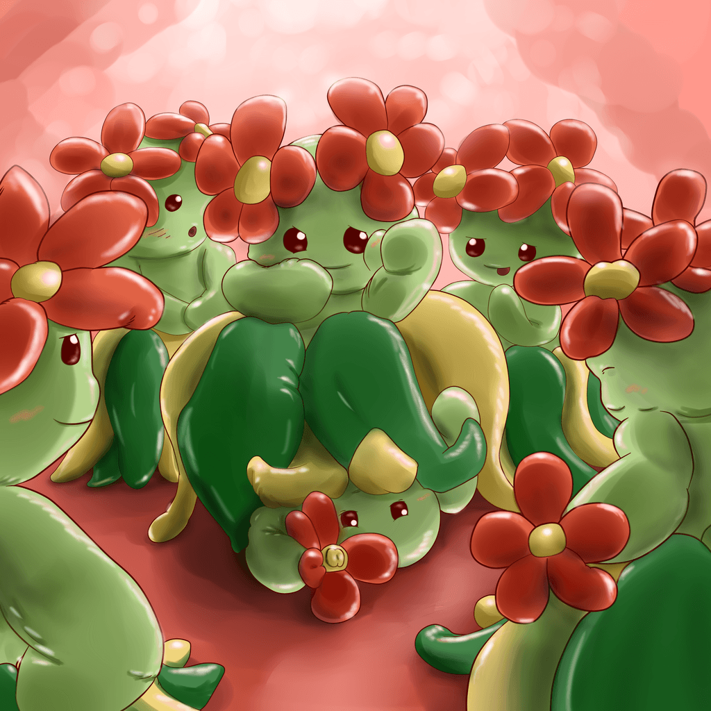 Upskirt Aromatherapy (Bellossom Pokemon TF) by Mewscaper on DeviantArt