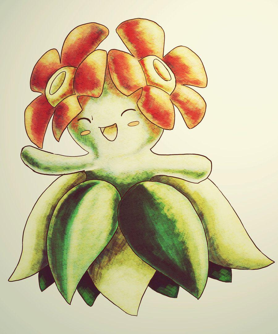 bellossom by lalindaaa on DeviantArt