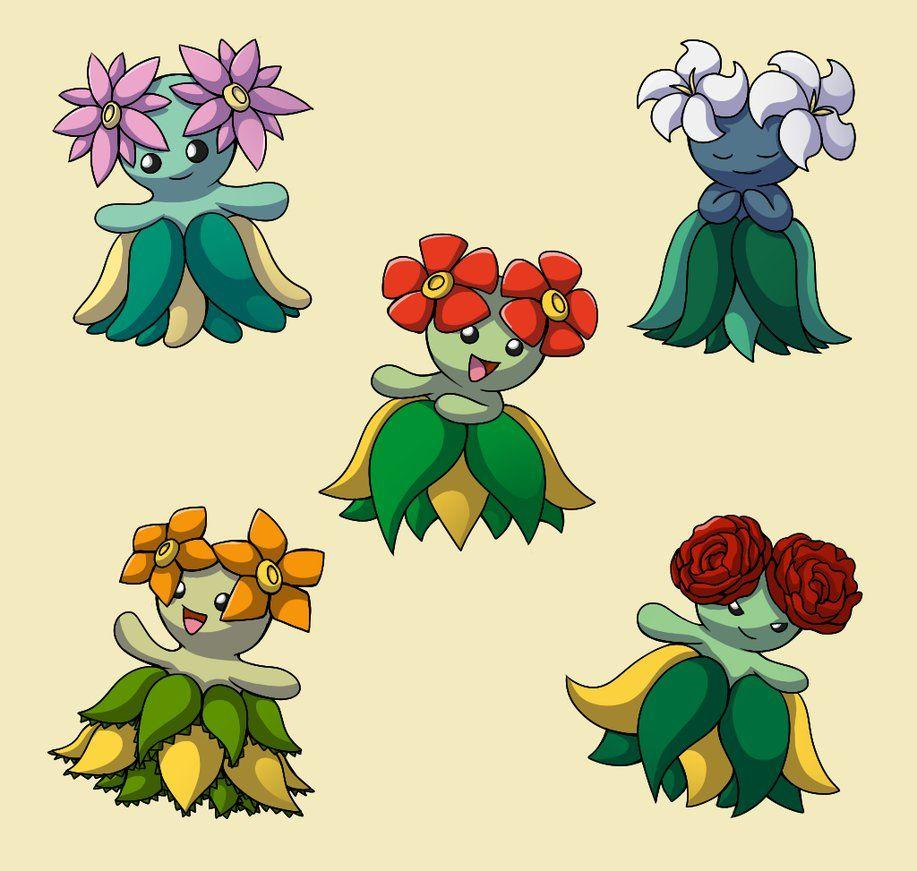 PokemonSubspecies: Bellossom by CoolPikachu29