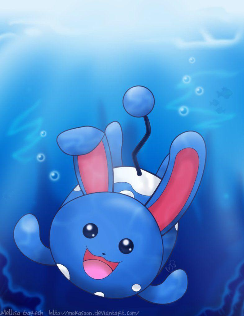 Underwater Azumarill by MokaSooN