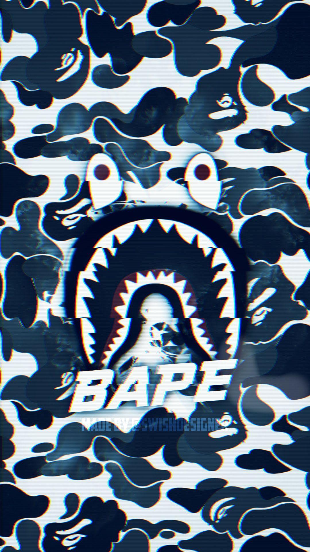 Bape Wallpaper (Custom) - Made by @SwishDesigner on Instagram .