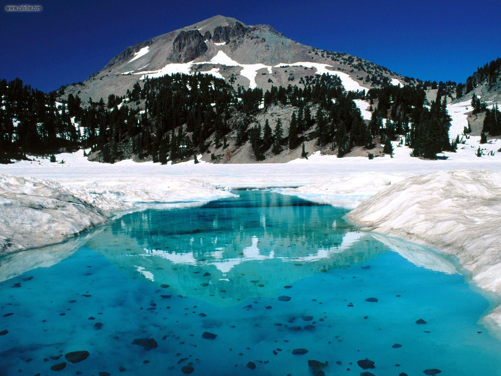 Nature: The Thaw Lassen Volcanic National Park California, picture ...