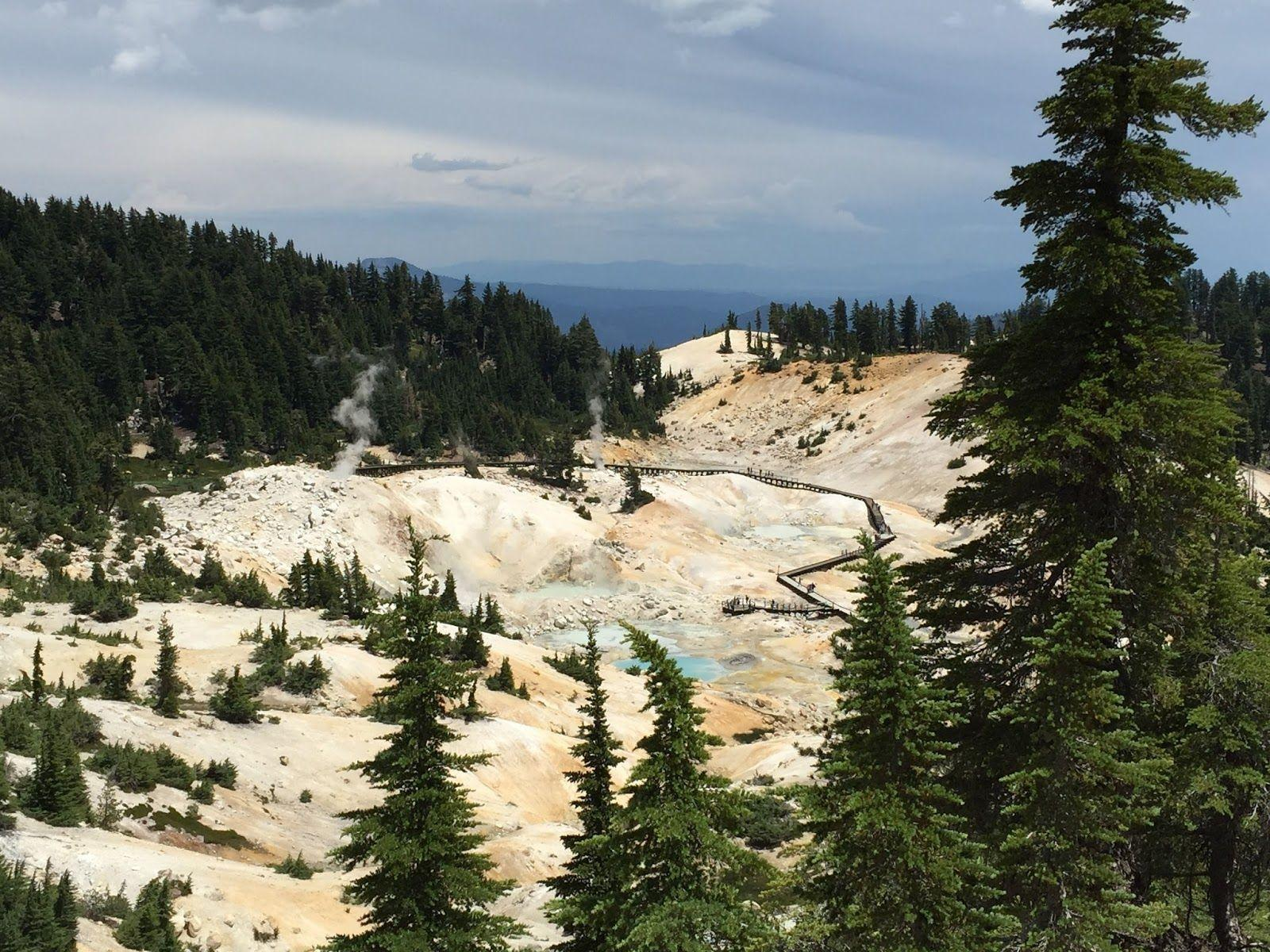 Lassen Volcanic National Park: Bumpass Hell & Mt. Lassen Hike