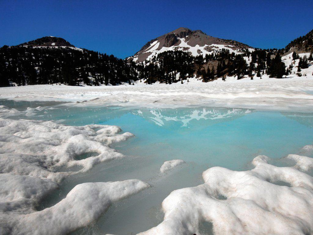 Webshots - Lake Helen, Lassen Volcanic National Park, California