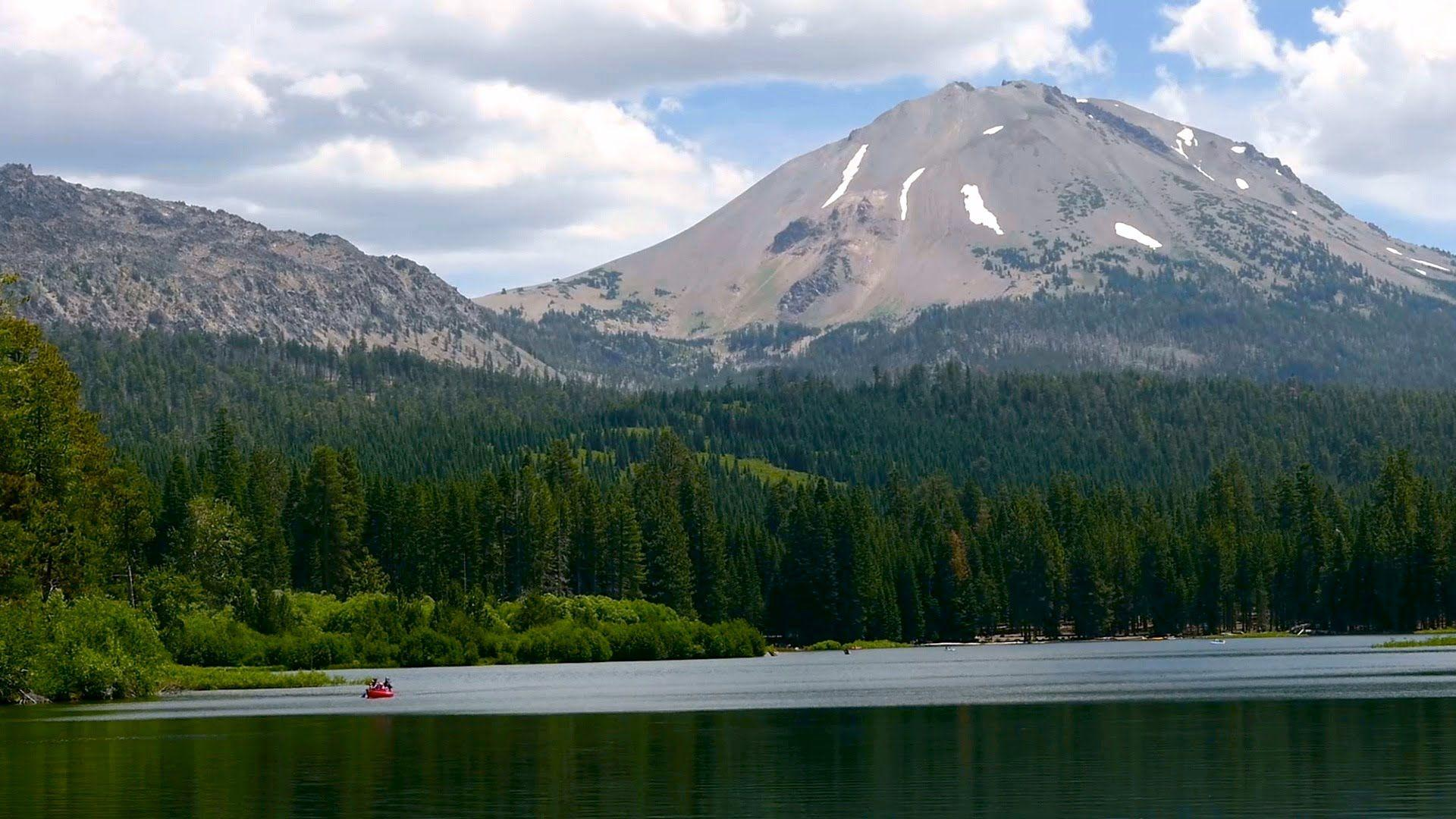 Nature Video - Lassen Volcanic National Park California - YouTube