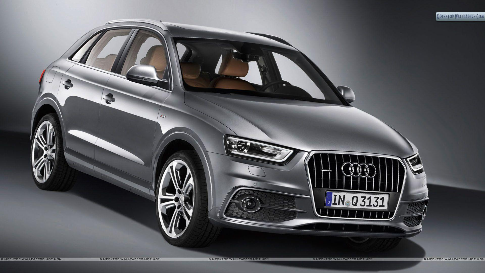 Audi q3 car on the road wallpapers and images - wallpapers ...