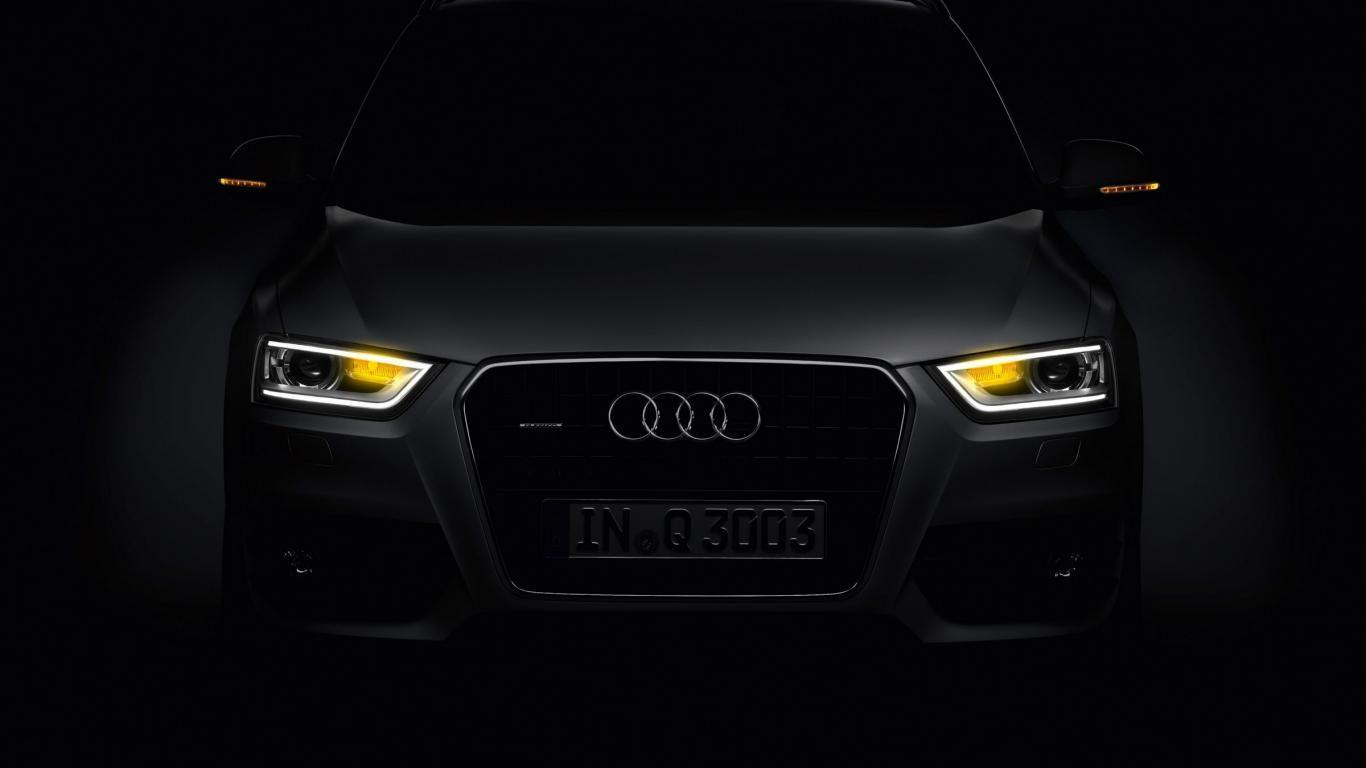2012 Audi Q3 Headlight Is Turned On Car Wallpapers Free Download ...